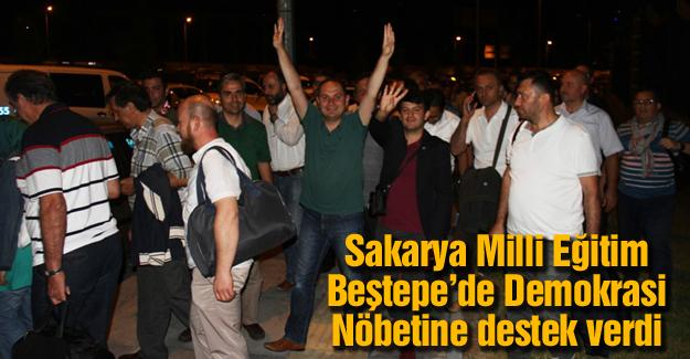 15 otobüsle Ankara'ya gittiler