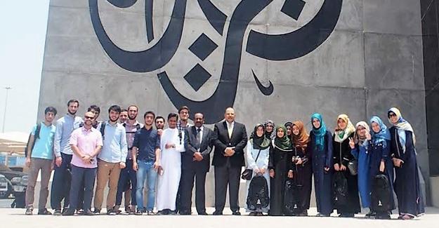 İlahiyat Fakültesi öğrencileri Katar'dan döndü