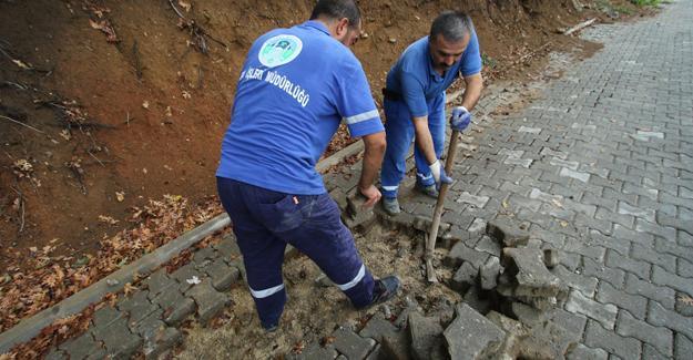 Akyazı'da çalışmalar aralıksız devam ediyor
