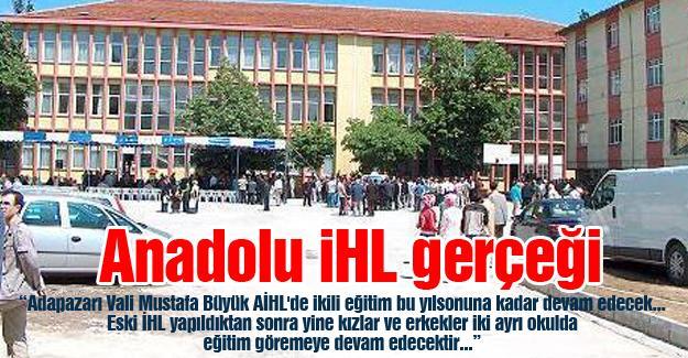Anadolu İHL gerçeği