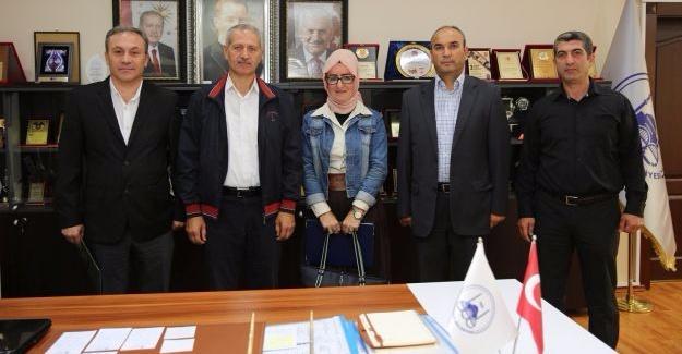 Arif Nihat Asya yönetiminden Başkan Dişli'ye ziyaret