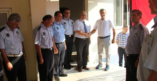 Başkan Akcan Zabıta Haftasını kutladı