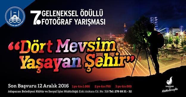 Fotoğraf yarışması başvuruları başlıyor