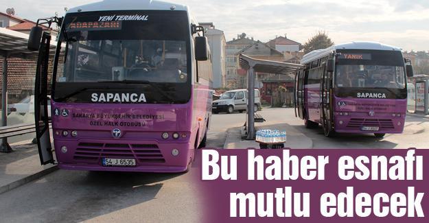 Halk otobüsü esnafına ödemeleri yapıldı