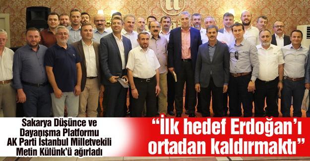 Platformu AK Parti İstanbul Milletvekili Metin Külünk'ü ağırladı