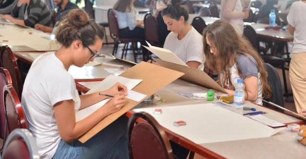 SAÜ'de özel yetenek sınavına yoğun ilgi
