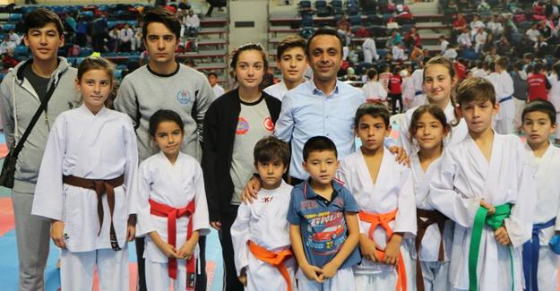 15 Temmuz Şehitler ve Gaziler İller Arası Karate Ligi düzenlendi