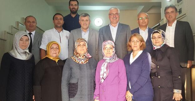 AK Parti Adapazarı'ndan Demir-Yol İş'e ziyaret