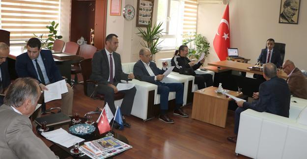 Amatör Spor Haftası İl Tertip Komitesi toplandı