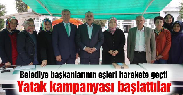 Belediye başkanlarının eşleri harekete geçti
