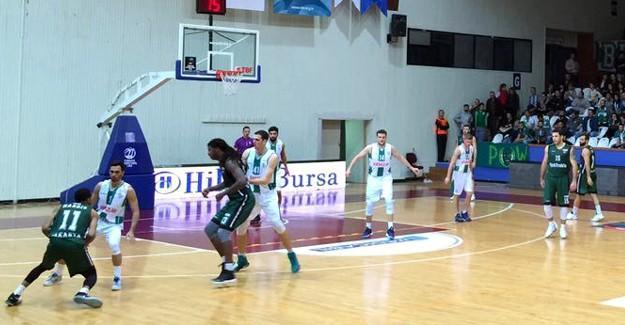 Büyükşehir Basket Bursa'da galip