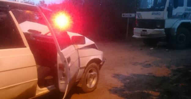 Kaynarca'da trafik kazası 2 yaralı