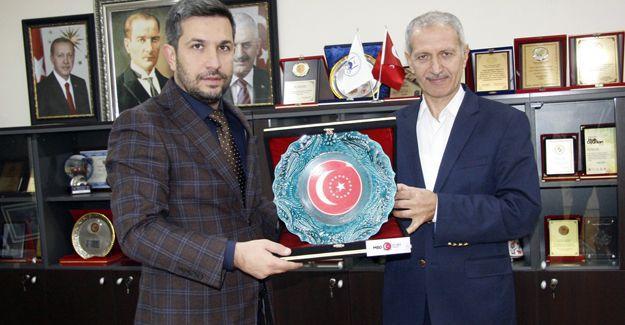 MBDD'li gençlerden Başkan Dişli'ye ziyaret