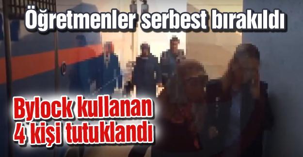 Öğretmenler serbest bırakıldı