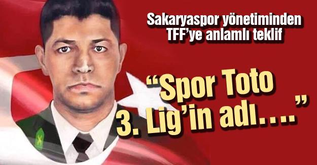 Sakaryaspor yönetiminden TFF'ye anlamlı teklif