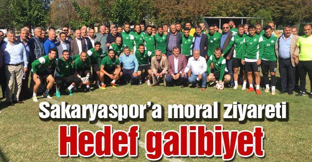 Sakaryaspor'a moral ziyareti