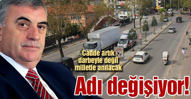 Sedat Kirtetepe Caddesi'nin adı değişiyor