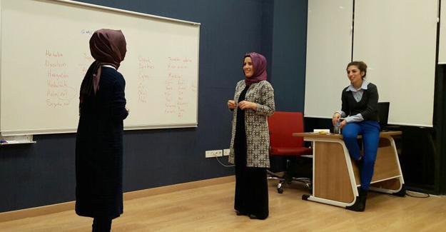 SGM'de işaret dili eğitimleri başladı
