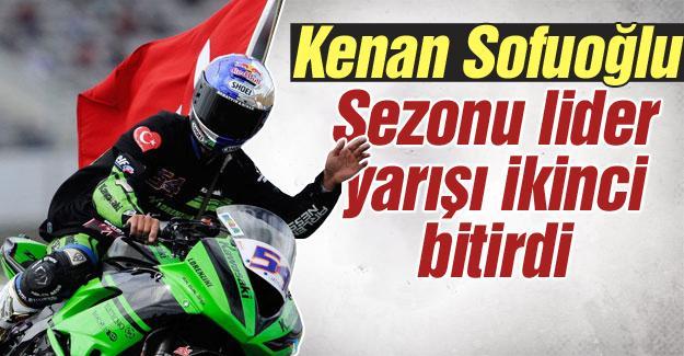 Sofuoğlu, son yarışı ikinci tamamladı