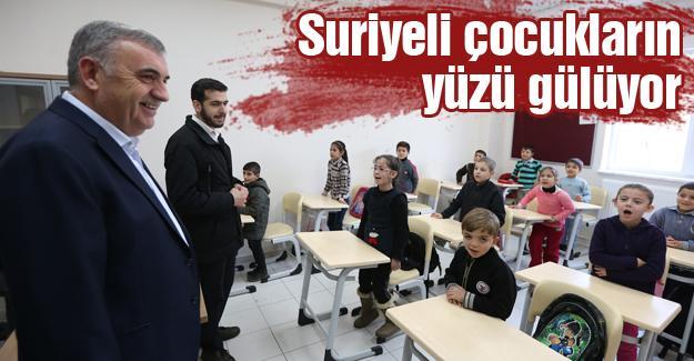 280 Suriyeli çocuk eğitim görüyor