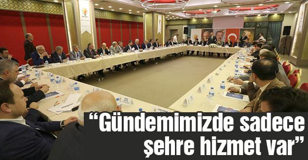 AK Parti İl İstişare toplantısı yapıldı