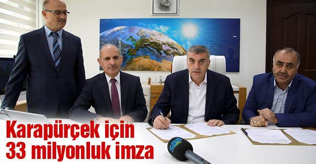 Altyapı için protokol imzalandı