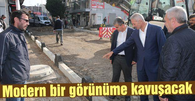 Başkan Dişli, asfalt çalışmalarını inceledi