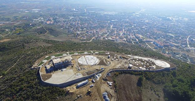Boğaz manzaralı tesis yüzde 70 tamamlandı