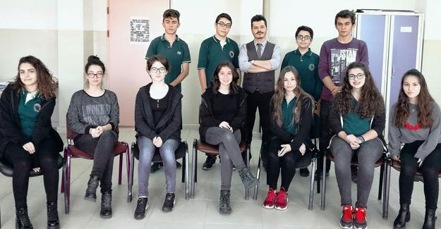 Cevat Ayhan Fen Lisesi'nden bir ilk daha