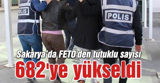 FETÖ'den tutuklu sayısı 682'ye yükseldi