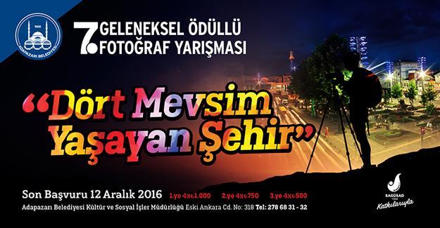 Fotoğraf yarışması başvuruları devam ediyor