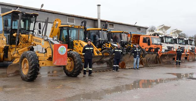 Hendek Belediyesi kış önlemlerini aldı
