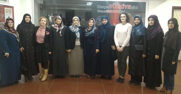 Hûma Uluslararası Öğrenci Derneği'nden AK Parti'ye ziyaret