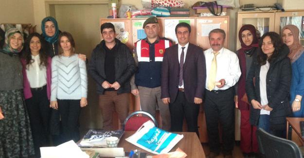 Jandarma'dan Öğretmenler Günü kutlaması