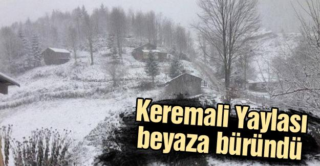 Kar yağışı yüksek kesimlerde etkili oldu