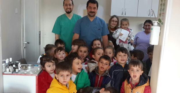 Kaynarca'da Ağız ve Diş Sağlığı Haftası kutlandı