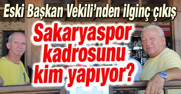 Recep Özcan'dan Sakaryaspor tepkisi