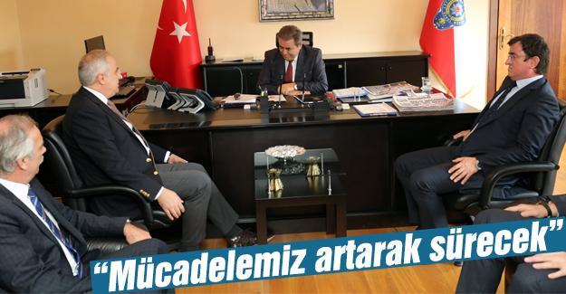 SATSO'dan, Pınarbaşı'ya ziyaret