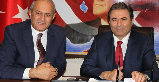 SESOB'dan İl Emniyet Müdürü Pınarbaşı'na ziyaret
