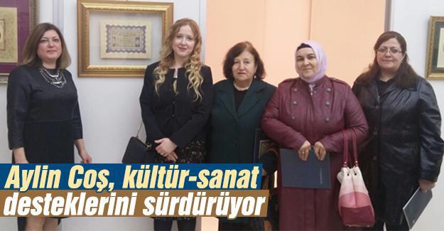 'Tezhip Sergisi'nin açılışına katıldı