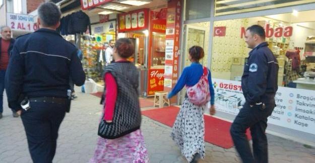 Tırnakçılık yapan 5 kadın yakalandı