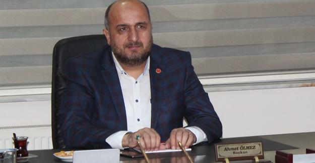TÜMSİAD Başkanı Ölmez'den 24 Kasım mesajı