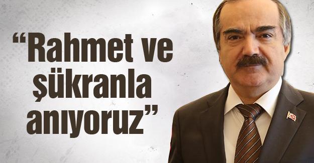 Vali Hüseyin Avni Coş'tan 10 Kasım mesajı