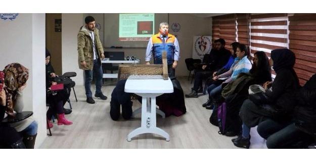 AFAD'dan gençlere afet bilinci eğitimi verildi
