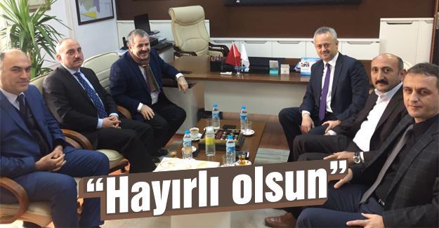 AK Parti'den Öğütlü'ye ziyaret