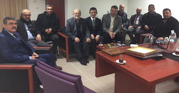 AK Parti Serdivan'dan, Çınar'a ziyaret