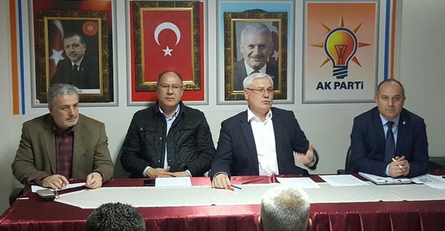 AK Partili mahalle başkanları toplantısı yapıldı