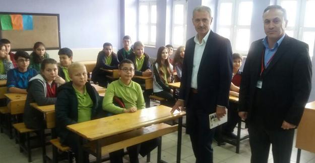 Başkan Dişli'den okul ziyareti
