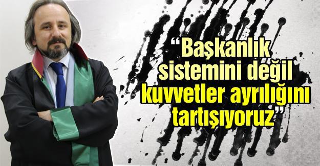 Başkan Kazan 'Başkanlık Sistemi' hakkında konuştu