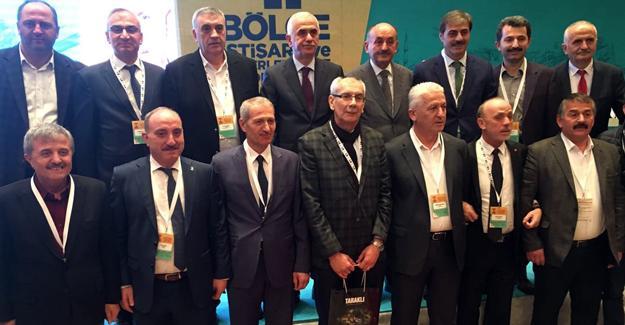 Başkan Yılmazer AK Parti Bölge Toplantısı'nda